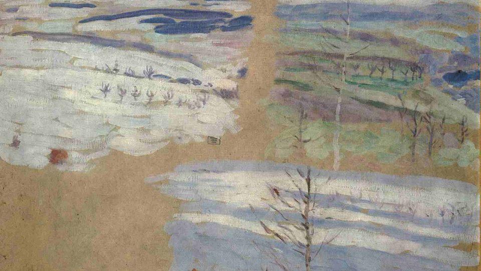 Jindřich Prucha: Tři náčrty krajin I. (1910)
