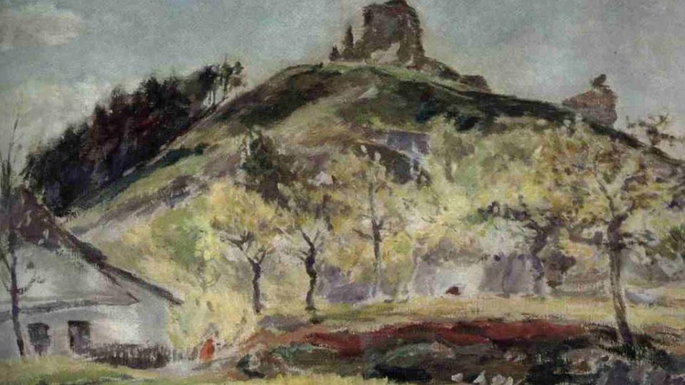 Jindřich Prucha: Lichnice v máji (1914)