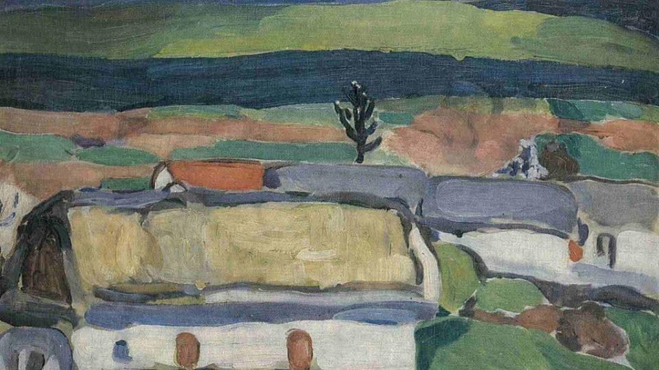 Jindřich Prucha: Před bouří (1911)