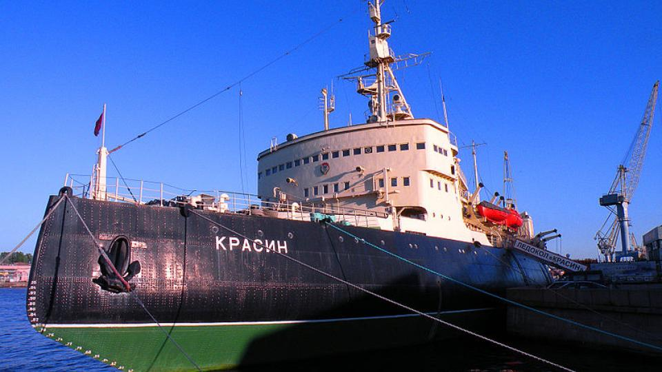 Ledoborec Krasin nakonec trosečníky ze vzducholodi Italia zachránil