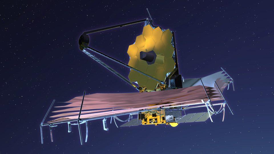Vesmírný dalekohled Jamese Webba. Pomyslný nástupce Hubbleova dalekohledu