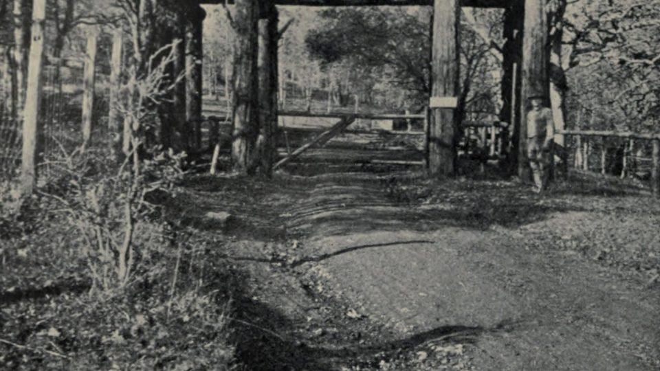 Brána do ranče Jacka Londona