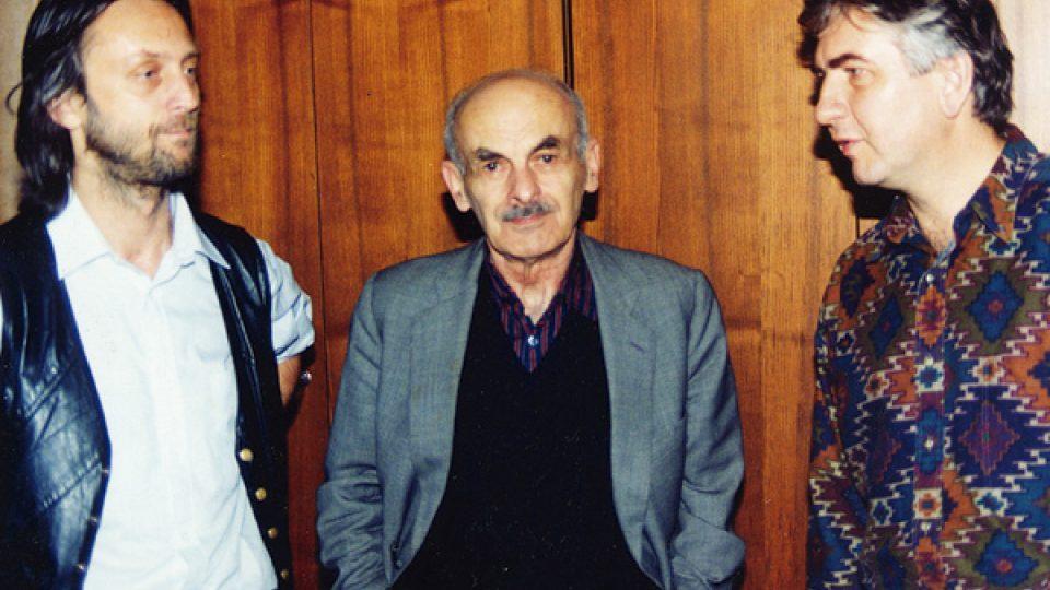 Jiří Vondrák, Bulat Okudžava a Miroslav Donutil (Brno 1995)