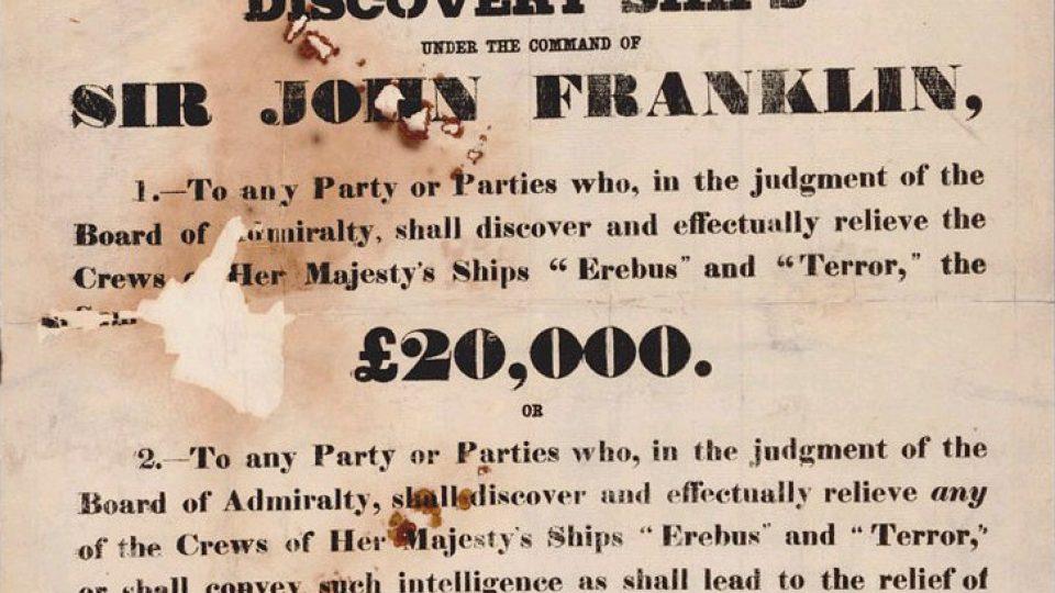 Odměna za objevení Franklinovy výpravy