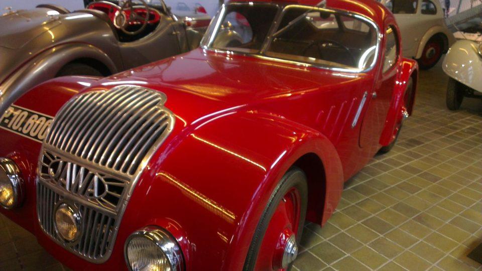 Jawa 750, vůz, který byl vyroben speciálně pro závod 1000 mil československých.