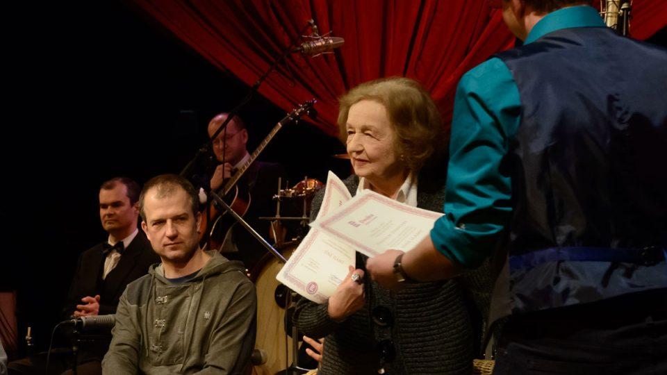 Mezi hosty 400. vydání Toboganu nechyběla herečka Blanka Bohdanová