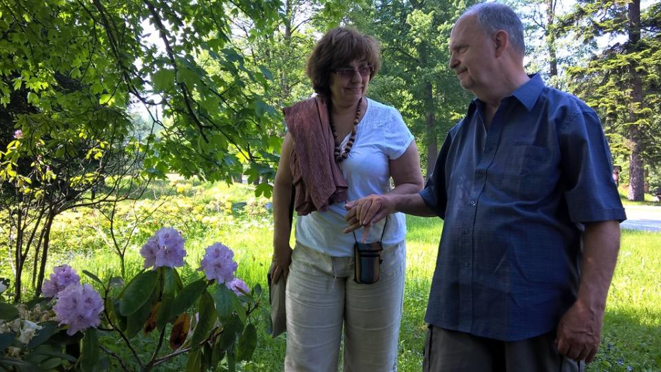 Podle struktury organismu a jejich vůně pozná pan Schneider druh rostlin