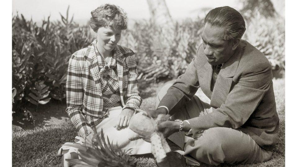 Amelia Earhartová na Havaji (1935)