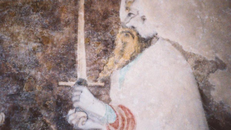 Nástěnná malba sv. Pavel, Mistr Theodorik