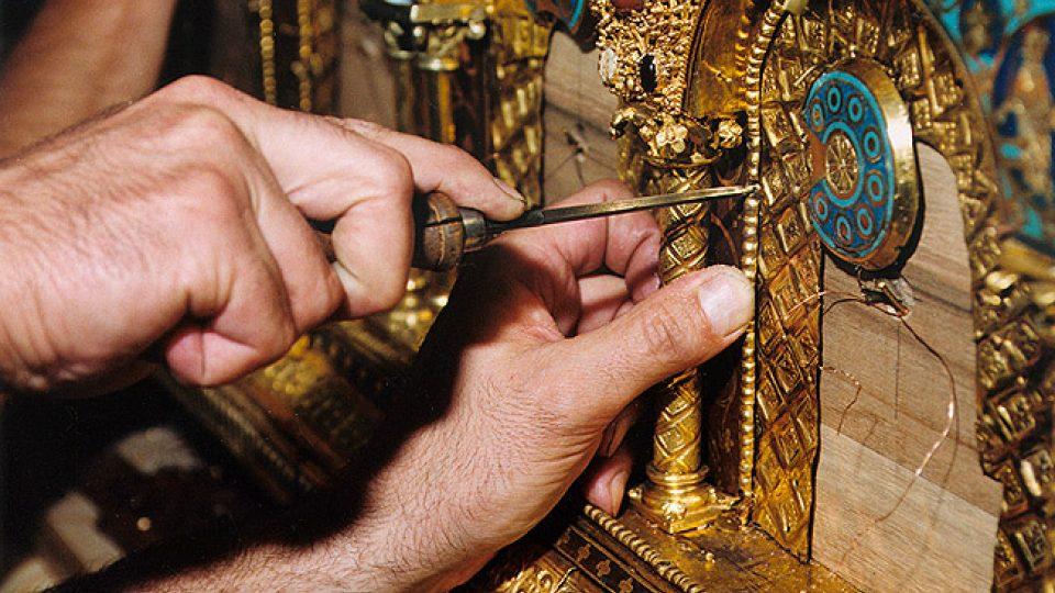 Rekonstrukce relikviáře sv. Maura