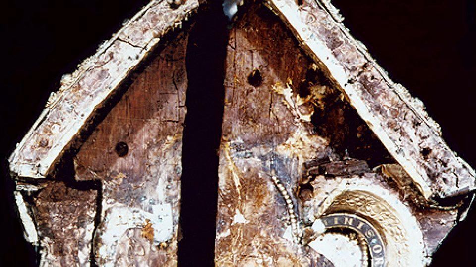 Stav původního jádra relikviáře sv. Maura po nálezu