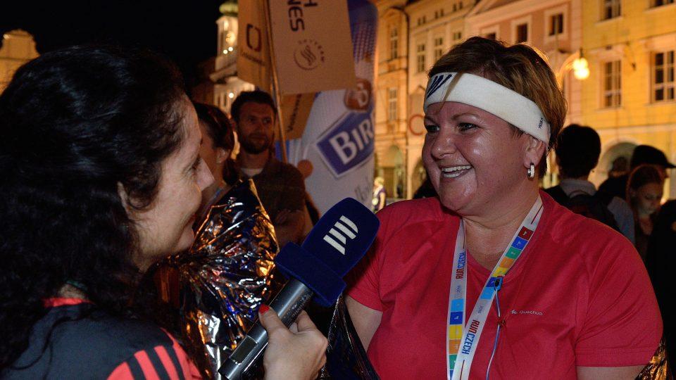 Cesta k půlmaratonu: Alena v cíli