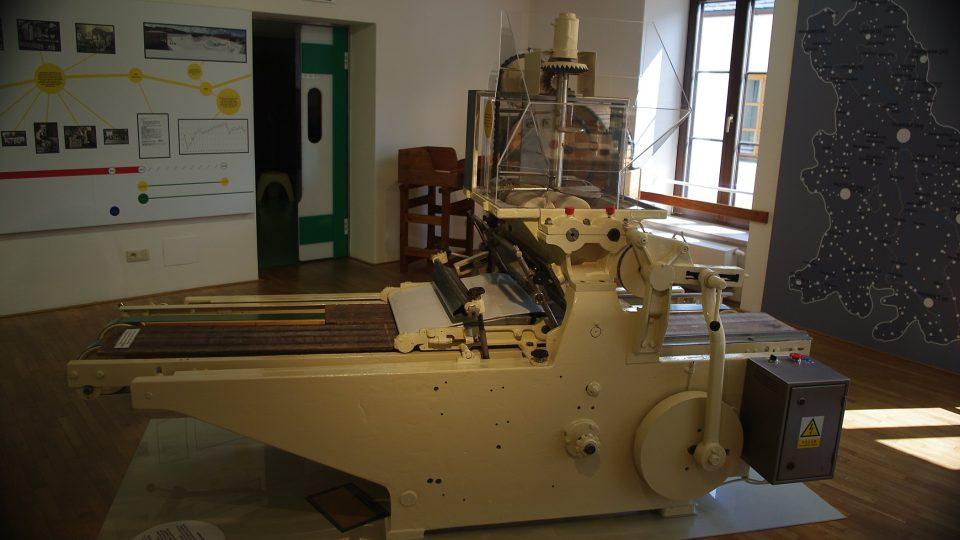 Moderní stroj na výrobu tvarůžků