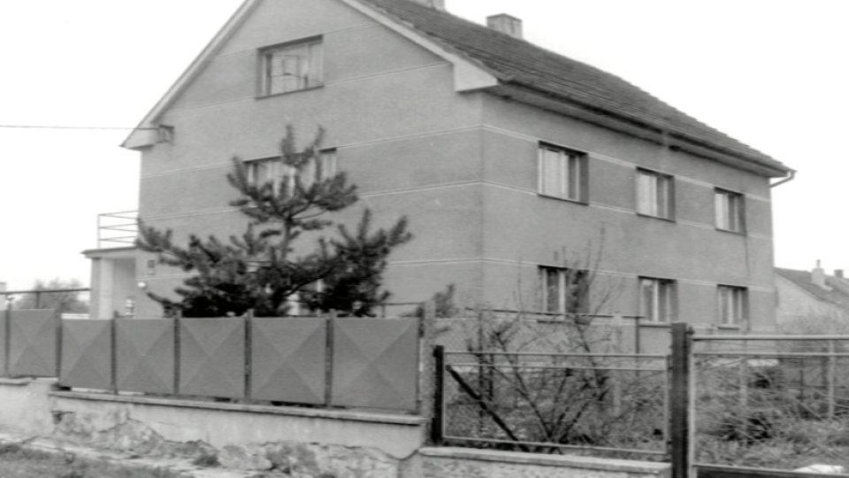 Místo činu: domek Kudláčkových v Klučově