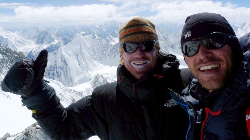 Karakoramský pižďuch 7 400 m s úsměvy