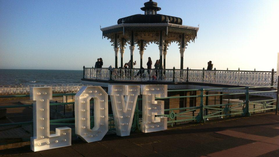 Brighton pobřeží