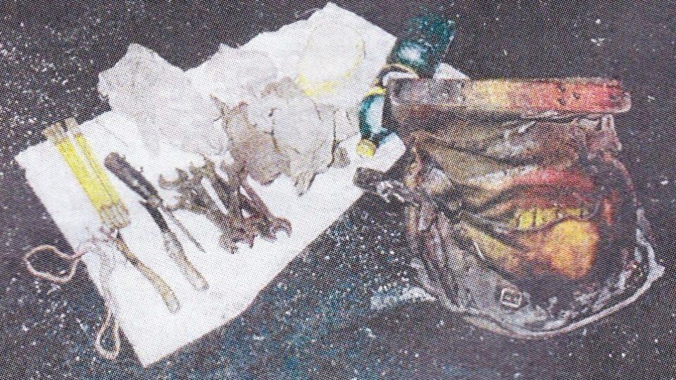 Obsah kapes zavražděného horníka