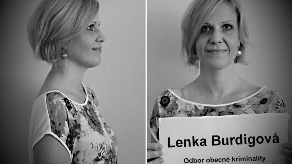 kpt. Lenka Burdigová (Odbor obecné kriminality Policie Moravskoslezského kraje)