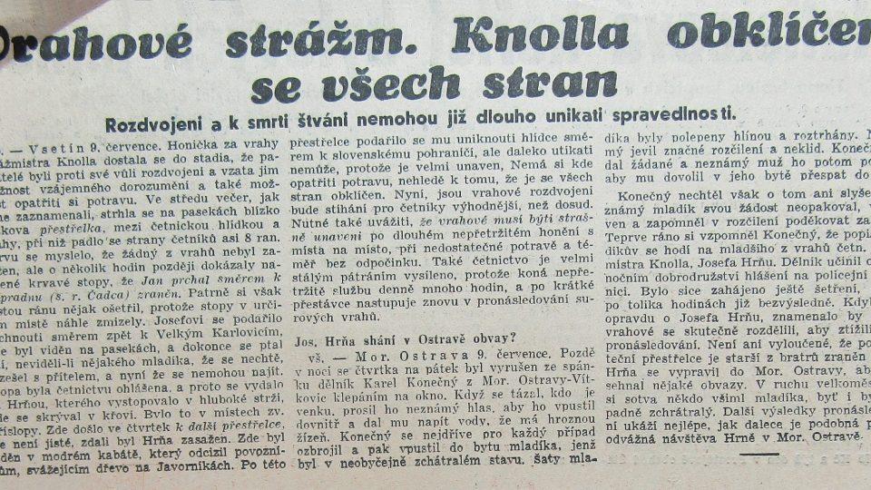 Moravská orlice 10. června 1937