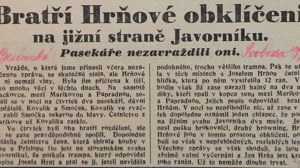 Průnická svoboda 10. června 1937