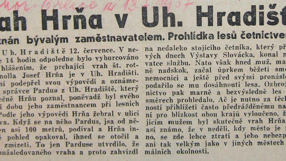 Moravská orlice 13. června 1937