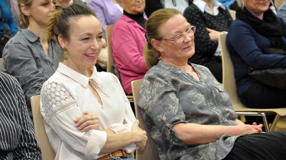 Hosty narozeninového Toboganu byli i Jana Preissová a Tatiana Vilhemová