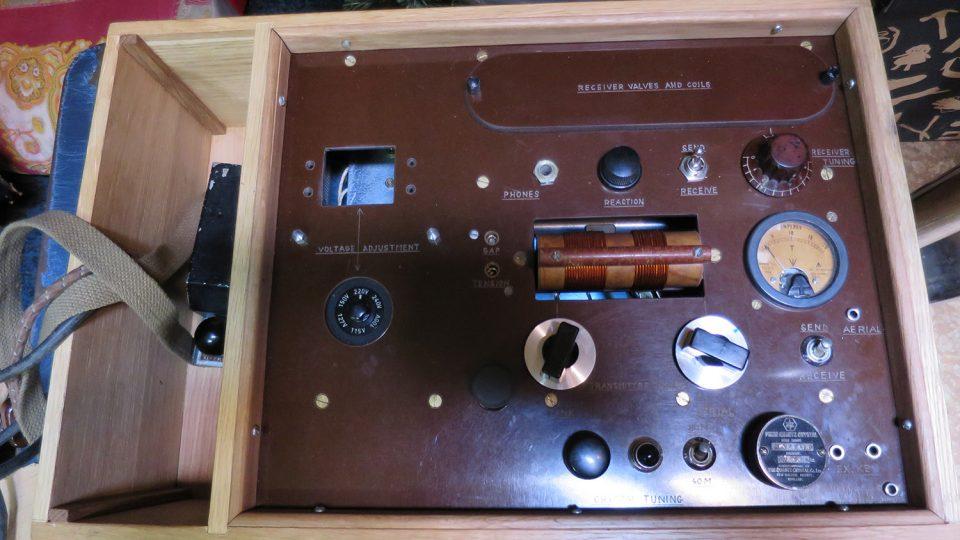 Replika radiosoupravy Libuše