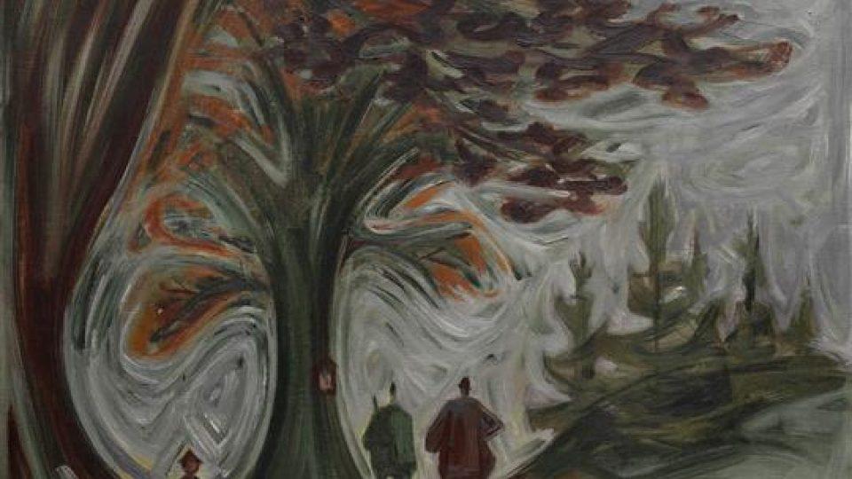 Josef Čapek: Myslivci pod stromem (1937)