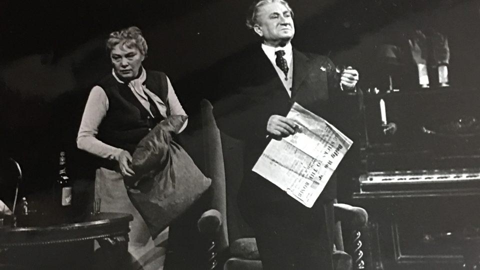 Jaroslav Marvan v Národním divadle