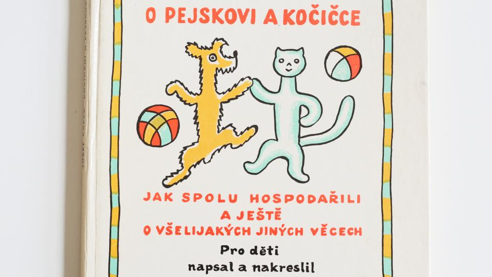Povídání o pejskovi a kočičce, nakreslil a napsal Josef Čapek