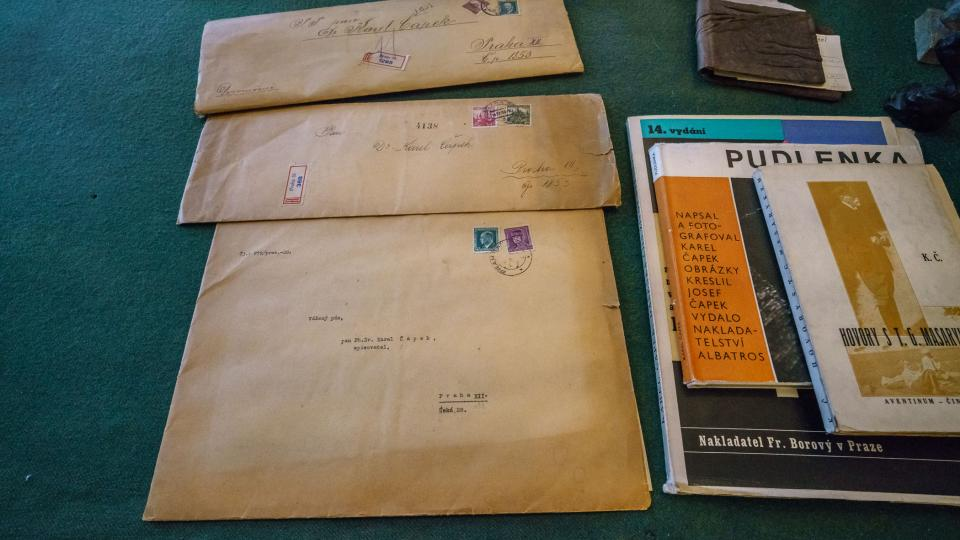 Dopisy Karla Čapka