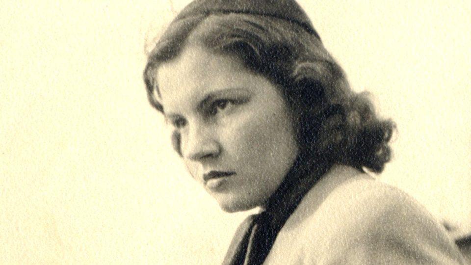 Hana Krupková (asi 1943)