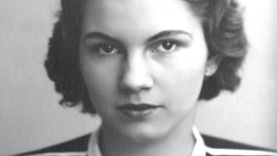 Hana Krupková (asi 1938)