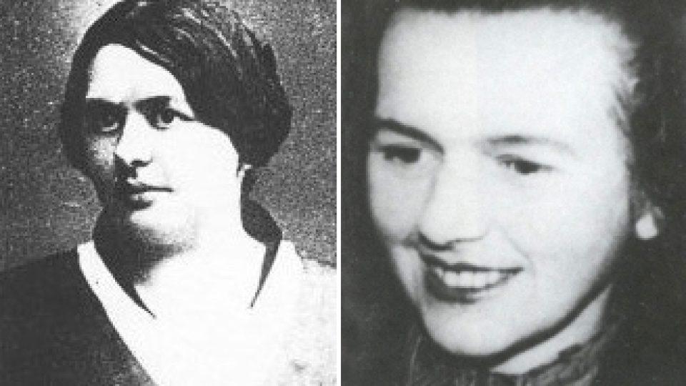 Helena Čapková s dcerou Helenou Koželuhovou