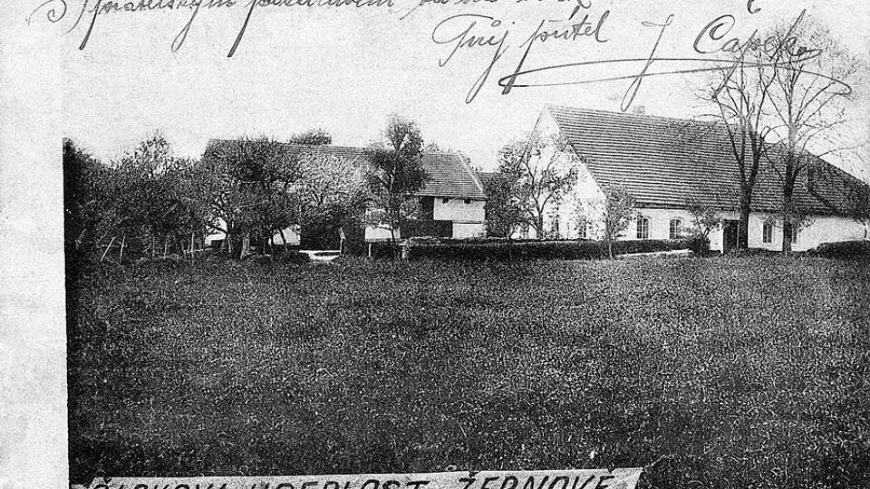 Čapkova usedlost v Žernově (rodný dům otce bratří Čapků, lékaře Antonína Čapka)