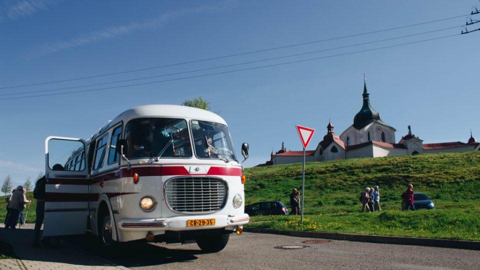 Hurá na výlet! používá klasický a všemi oblíbený autobus