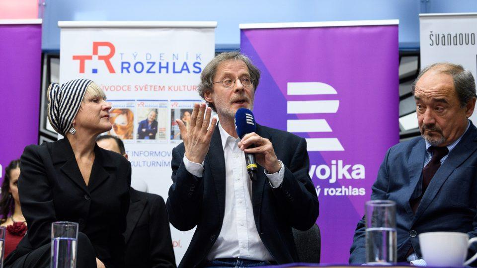 Simona Peková, Jan Hartl, Viktor Preiss