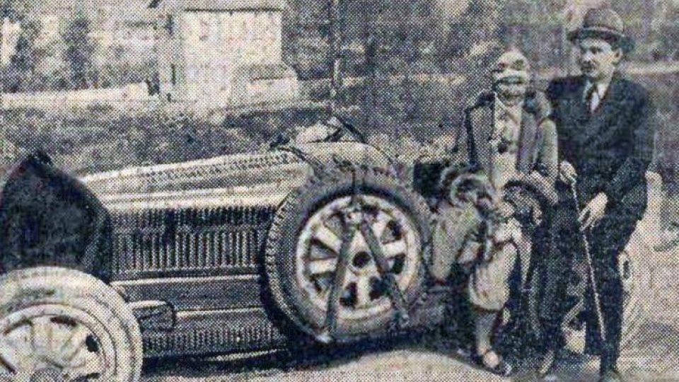 Eliška Junková, Targa Florio (1928)