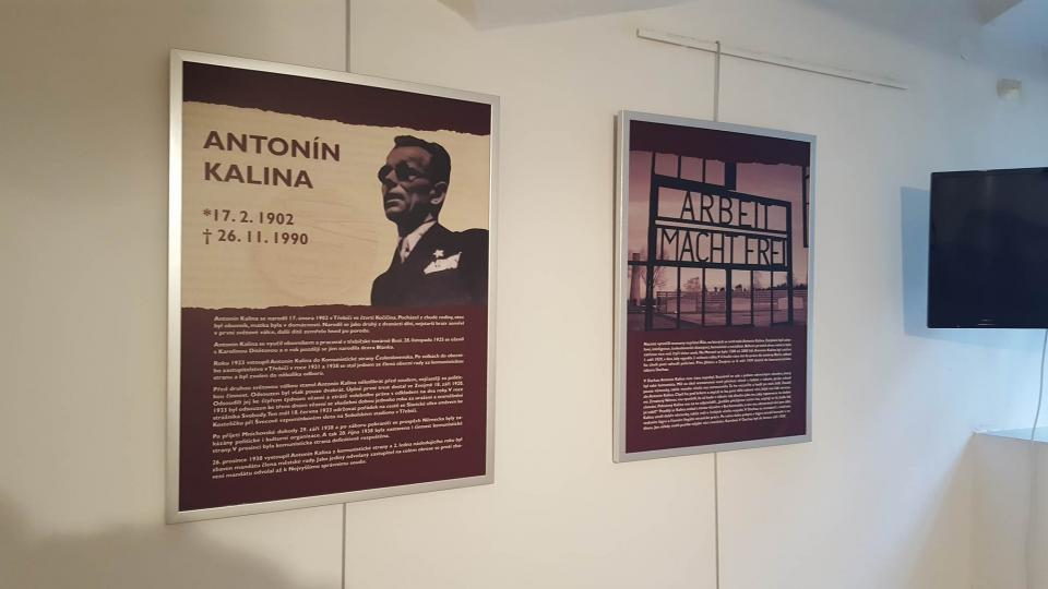 Expozice Antonína Kaliny, Třebíč