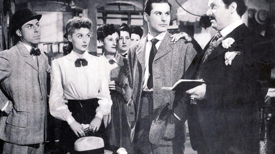 My girl Tisa (1948): Lili Palmer, Sam Wanamaker, Hugo Haas