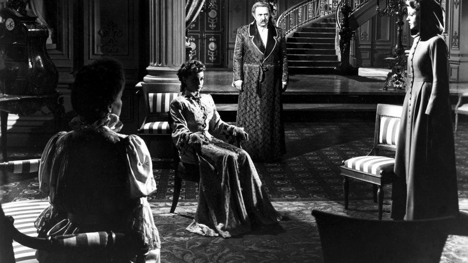 The Private Affairs of Bel Ami (1947): Suasn Douglas, Hugo Haas, Angela Lansbury