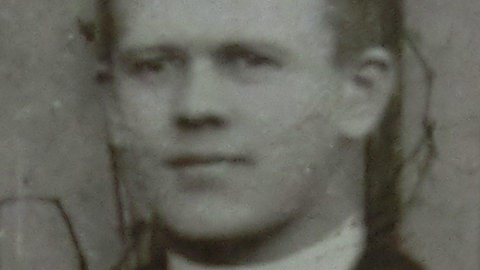Antonín Alois Weber, katecheta (kolem roku 1907)
