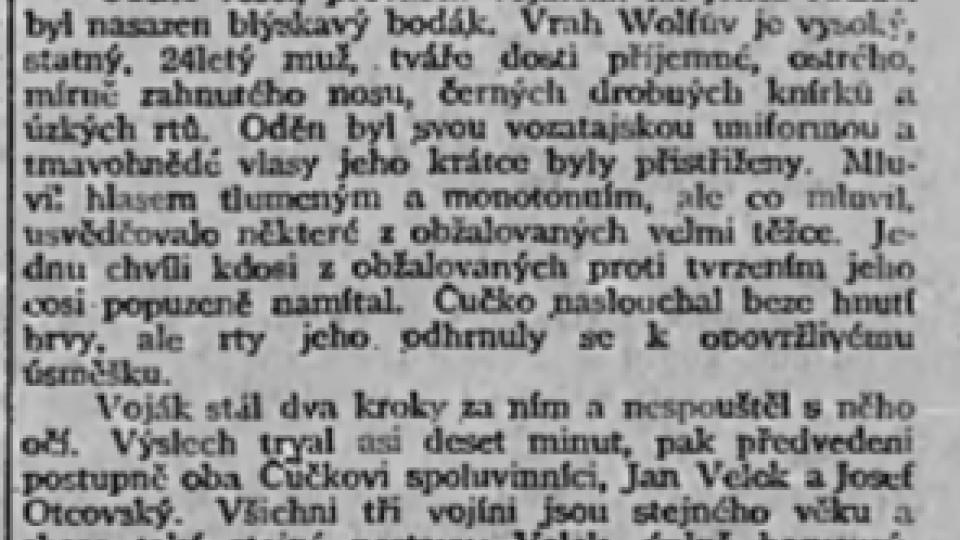 Národní listy 24. 1. 1903 – soud