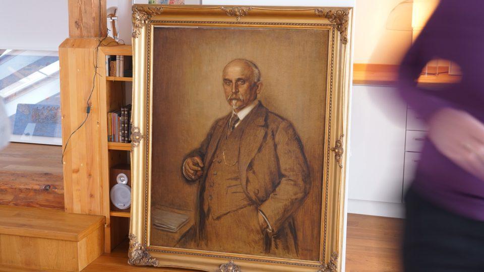 Obraz Aloise Rašína ze 20. let 20. století