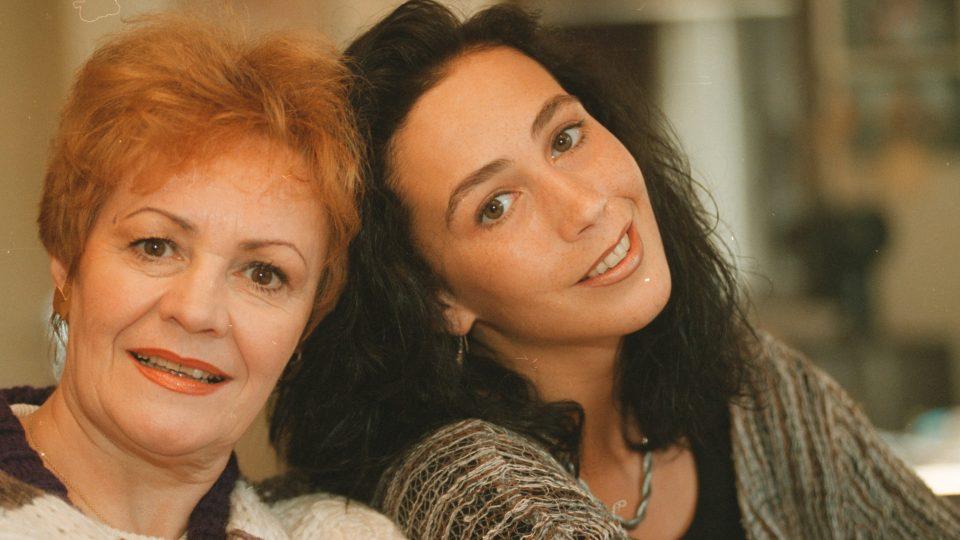 Věra Galatíková s dcerou Kristýnou Frejovou