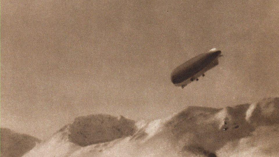 Výprava vzducholodi Italia, které se zúčastnil i František Běhounek