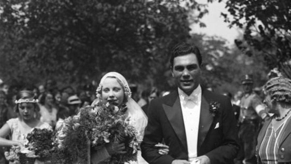 Svatba Anny Ondrákové s Maxem Schmelingem