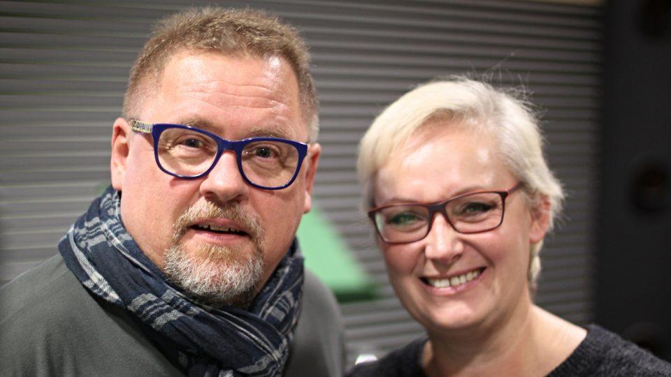 Václav Kopta a Zuzana Slavíková
