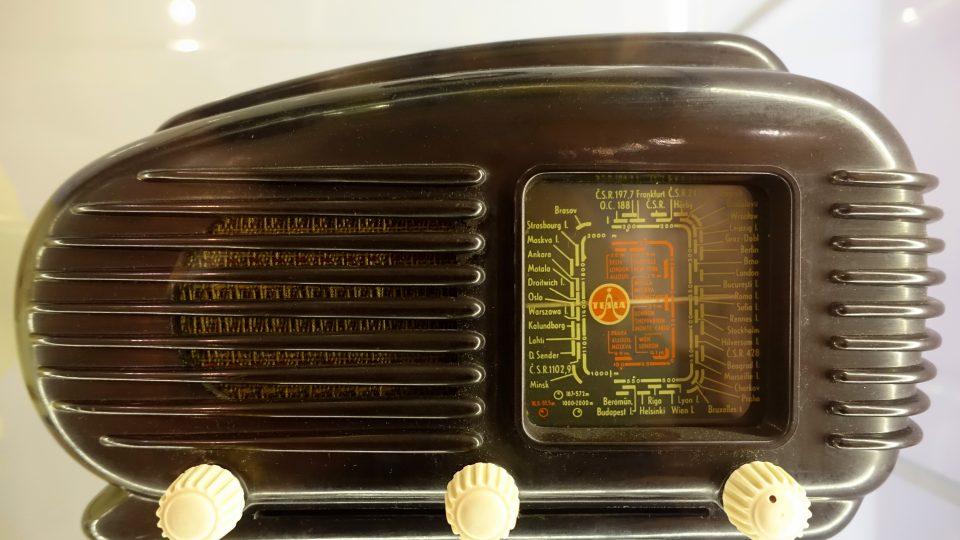 Radiopřijímač Tesla 308U Talisman (1953)