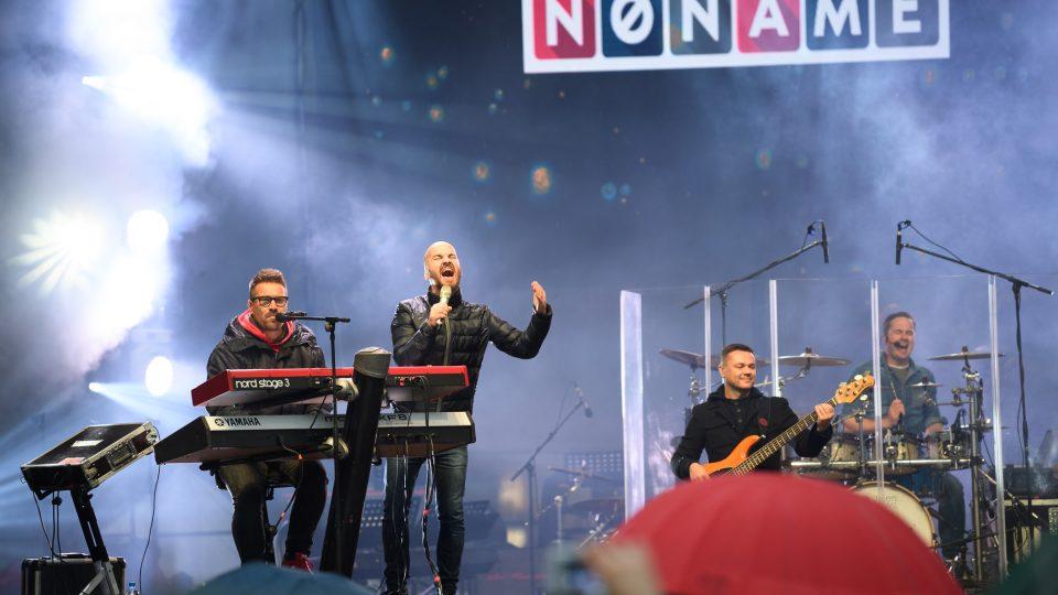 Vystoupení slovenské skupiny No Name